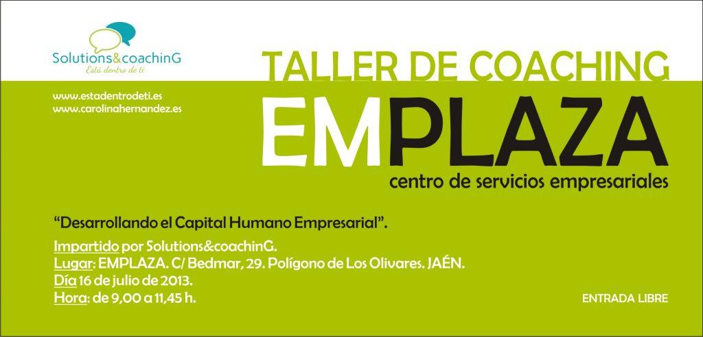 Presentación Solutions&coachinG Emplaza Jaén