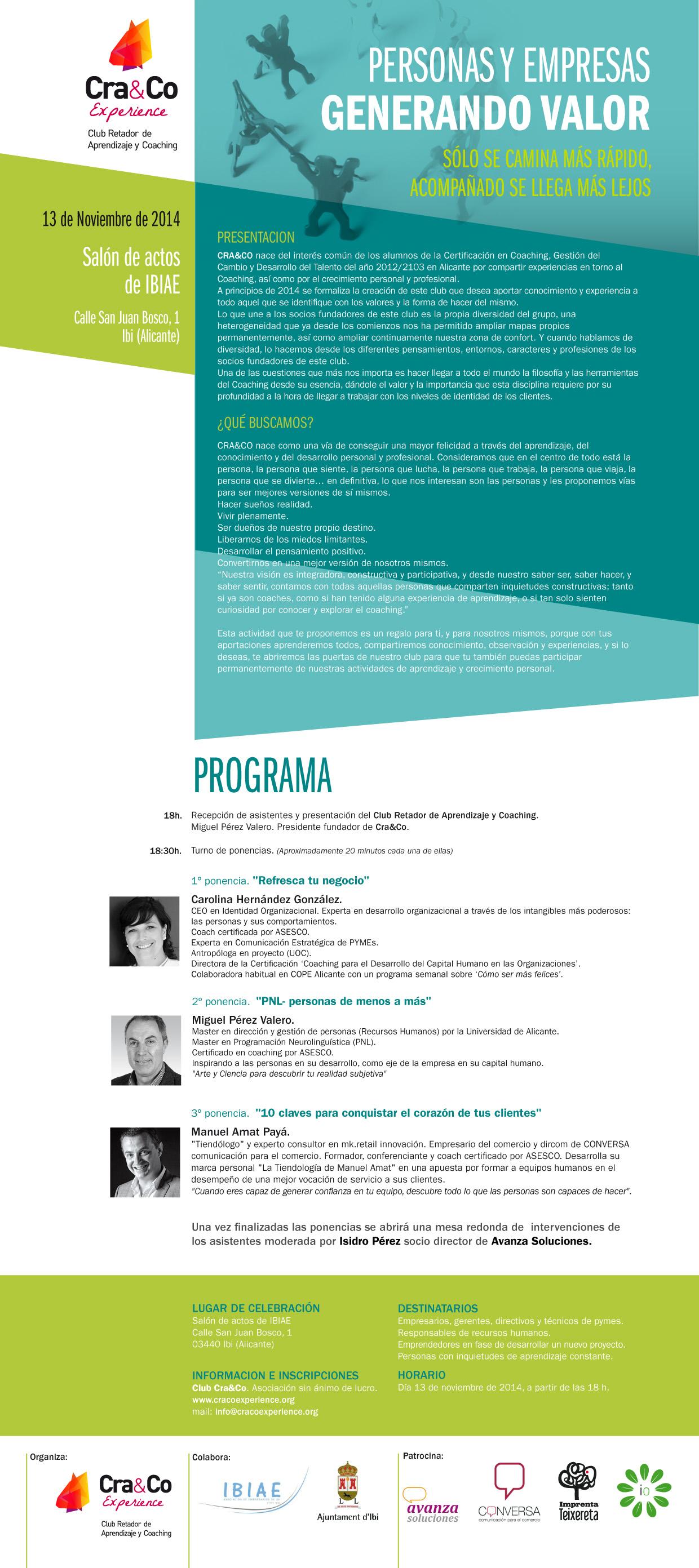 Presentación CRA&CO